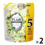 フレアフレグランス ホワイトブーケ 詰め替え 2000ml 1セット(2個入) 柔軟剤 花王