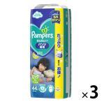 パンパース おむつ パンツ ビッグ(12〜22kg) 1ケース(44枚入×3パック) 夜用 さらさらケア P&G