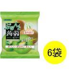 ぷるんと蒟蒻ゼリー パウチ キウイ 1セット(6個×6袋) オリヒロ