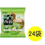 ぷるんと蒟蒻ゼリー パウチ キウイ 1セット(6個×24袋) オリヒロ