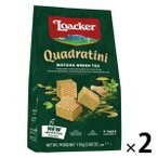 アウトレット Loacker(ローカー) クワドラティーニウエハース 抹茶 1セット(110g×2袋)