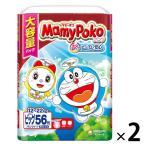 マミーポコ おむつ パンツ ビッグ(12〜22kg) ジャンボパック 1セット(56枚入×2パック) ドラえもん ユニ・チャーム