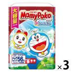 マミーポコ おむつ パンツ ビッグ(12〜22kg) ジャンボパック 1セット(56枚入×3パック) ドラえもん ユニ・チャーム