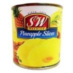 アウトレット S&W パインアップルスライス 439g 1缶