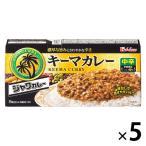 ハウス食品 ジャワカレー キーマカレー 中辛 1セット(5個)