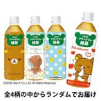 ダイドードリンコ リラックマのお茶 緑茶 500ml 1セット(6本)
