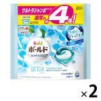 ボールド ジェルボール3D 爽やかプレミアムクリーンの香り 詰め替え ウルトラジャンボ 1セット(63粒入×2) 洗濯洗剤 P&G