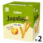 カルビー Jagabee うすしお味 80g 2箱 スナック菓子