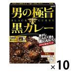明治 男の極旨黒カレー チキン 180g スパイシー中辛 1セット(10個)