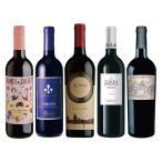 (サイバーサンデー対象)モンテ物産 お買い得イタリア辛口赤ワイン5本セット 750ml×5本 1セット セットワイン クリスマス