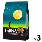 ルナ(LUNA)猫用 成猫 かつお節&チキン味とチーズ味ビッツ添え 国産 720g(180g×4袋)3袋 ペットライン