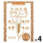 西田精麦 九州大麦グラノーラ(徳用サイズ)500g 4袋 シリアル 国産原料