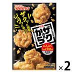 日清フーズ 日清から揚げ粉逸品にんにくしょうゆ味黒胡椒仕立て(100g) ×2個