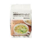 無印良品 食べるスープ 4種野菜のみそクリームスープ 1袋(4食分) 良品計画