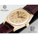 ロレックス バブルバック ユニークダイアル K14PG 腕時計 ROLEX アンティーク オイスターパーペチュアル USED品(M888888)