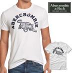 Abercrombie&Fitch アバクロ アバクロンビー&フィッチ APPLIQUE LOGO GRAPHIC Tシャツ 半袖シャツ メンズ アメカジ