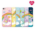 Care Bears Rainbow Hard/ケアベア/iPhone/Galaxy ケース