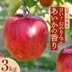 長野県 ふるさと納税 【先行受付】甘い!希少!幻のりんご あいかの香り 3キロセット