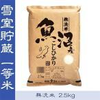 魚沼市 ふるさと納税 【無洗米】 お米マイスター厳選 魚沼産コシヒカリ100% 2.5kg