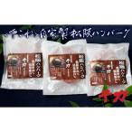松阪市 ふるさと納税 自家製松阪ハンバーグ(150g×3)