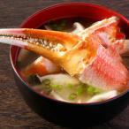 阪南市 ふるさと納税 生ずわい蟹 カニしゃぶ用 爪肉 約500g【8】