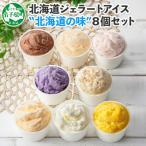 ふるさと納税 弟子屈町 【北海道】厳選 アイスクリーム 食べ比べ 8個 手作り ジェラート 北国A 480