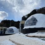 ふるさと納税 北茨城市 グランピングヴィレッジIBARAKI1泊2食付きプラン ドーム型(最大5名様)