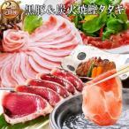 枕崎市 ふるさと納税 定期便(2回の配送)黒豚&炭焼