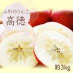 長井市 ふるさと納税 山形のりんご(高徳)約2kg