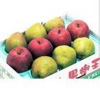 上山市 ふるさと納税 ラ・フランスとふじりんご詰め合わせ 3kg 0020-2009