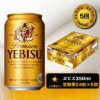 ふるさと納税 焼津市 【定期便 5回】エビス ビール350ml×1箱×5回(a80-034)