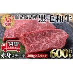 ふるさと納税 曽於市 上質な赤身肉をどうぞ!A5黒毛和牛赤身ステーキ600g