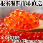 ふるさと納税 根室市 いくら醤油漬け(鮭卵)200g×2P(計400g) A-11101