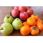 ふるさと納税 上山市 フルーツセット(ラ・フランス、りんご、柿)5kg 0127-2009