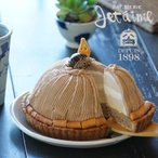 ふるさと納税 愛南町 菓子職人が作ったモンブラン(1ホール:18cm)