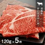 ふるさと納税 洲本市 淡路牛 ロースステーキ600g冷凍(120g×5枚):BYG2