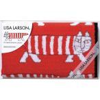 リサ・ラーソン ウォッシュタオル 赤 LL-0308 || 内祝 タオル ギフト 贈り物 詰め合わせ セット