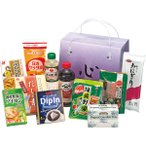 手提げバラエティセット HK-FS || 内祝 油 しょうゆ 醤油 調味料 食品 食べ物 ギフト 贈り物 詰め合わせ セット PT
