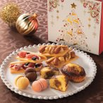 クリスマス クリスマスギフト シーキューブ ハッピースウィートアソートX クリスマスプレゼント スイーツ お菓子 洋菓子 クリスマスグルメ クリスマスパーティ