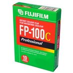 フジ 証明用フイルム FP-100C 光沢 10枚撮 単品 (英文・箱入)