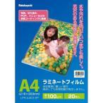 ナカバヤシ ラミネートフィルムE2タイプ 100μm・20枚 LPR-A4E2-SP A4