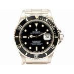 本物 ROLEX ロレックス 16610 サブマリーナ デイト 腕時計 T番 1996年 AT オートマ 自動巻 ブラック文字盤 黒 シルバー 中古