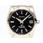 本物 SEIKO セイコー SBGR053 グランドセイコー メカニカル 腕時計 ブラック文字盤 裏スケルトン AT 自動巻 SS ステンレス 日本製 メンズ 中古