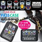 ビッグバン パスケース BIGBANG 定期入れ 公式グッズ カードケース 通学 通勤 KRUNK×BIGBANG キャラクターグッズ