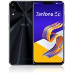 ASUS(����������) ZenFone 5Z (ZS620KL) ���㥤�ˡ��֥�å� ��ZS620KL-BK128S6�� 6.2�� nanoSIM��2