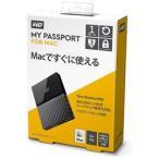 WesternDigital(ウエスタンデジタル) WDBFKF0010BBK-JESE(ブラック) ポータブルHDD 1TB[USB-A 3.0・Mac] My Passport 2018年発売モデル