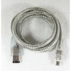〔アウトレット〕IEEE1394(FireWire)ケーブル(6ピン-4ピン) 1m