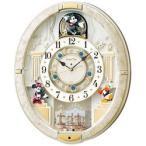 セイコー 電波からくり時計 「ディスニータイム ミッキー&ミニ-」 FW580W