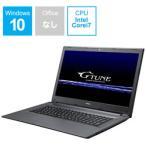 マウスコンピューター G-Tune BC-GTUNEI77G5TN1 17.3型ゲーミングノートパソコン Core i7 メモリ8GB SSD120GB+HDD1TB GTX1050Ti Windows10 (BCGTUNEI77G5TN1)