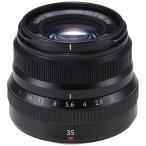 【お取り寄せ】FUJIFILM フジノンレンズ XF35mmF2 R WR B ブラック (FUJIFILM Xマウント)